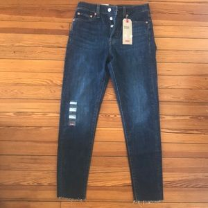 NWT Levis wedgie skinny jeans